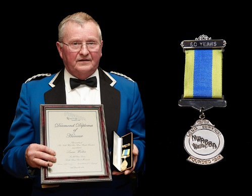Laurie Walton and 60 Years Service Medal